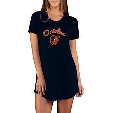 Concepts Sport Marathon Ladies Knit Nightshirt - Orioles