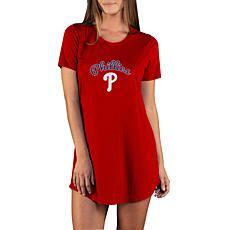 Concepts Sport Marathon Ladies Knit Nightshirt - Phillies