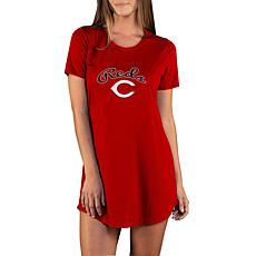 Concepts Sport Marathon Ladies Knit Nightshirt - Reds