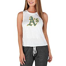 Concepts Sport Officially Licensed MLB Ladies Knit Tank Top Athletics
