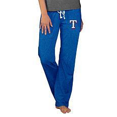 Concepts Sport Quest Ladies Knit Pant - Rangers