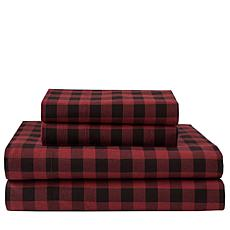 Concierge 100% Cotton Flannel 3-piece Sheet Set - T