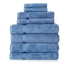Concierge Collection 100% Turkish Cotton 8-piece Towel Set