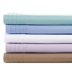 Concierge Collection 4-piece Wide-Pleated Hem Sheet Set