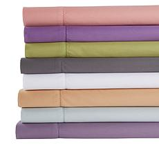 Concierge Collection 400TC 100% Cotton Hemstitch Twin Sheet Set