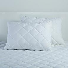 Concierge Collection Bed Cap 2-pack Pillows