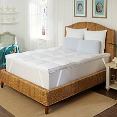 Concierge Collection Down Alternative High-Loft Full Top Featherbed