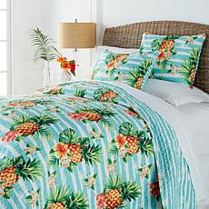 Concierge Collection Elements 3-piece Quilt Set - Pineapple