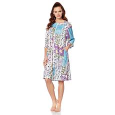 Concierge Collection Elements Zip-Front Robe