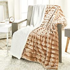 Concierge Collection Faux Fur Throw