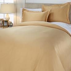 Concierge Collection Matte Satin 3-piece Duvet Set