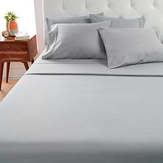 Concierge Collection Microfiber Sheets with Extra Pillowcases - Queen