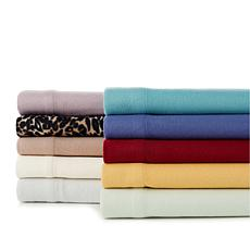 Concierge Collection Microfleece 4-piece Sheet Set - Queen