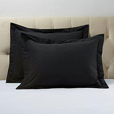 Concierge Collection Platinum Sham Duo - King