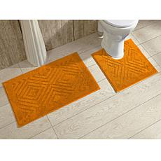 Concierge Collection Trier 2 Piece Bath Rug Set