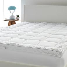 Concierge Collection Ultra Loft Zip-Off Mattress Topper