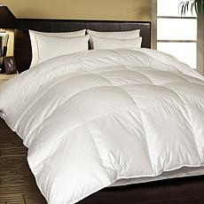 white comforter down garnet hill main goose ghpdp channeled signature