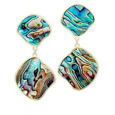 Connie Craig Carroll Jewelry Isla Abalone Drop Earrings