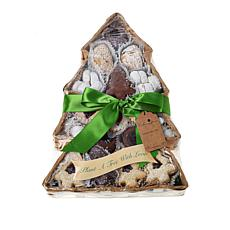 Cookies Con Amore 3 lb. Tree-Shaped Cookie Assortment