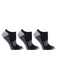 Copper Life 3-pack Men's Low-Cut Compression Socks