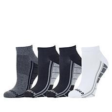Copper Life 4-pack Men's Ankle Compression Sock