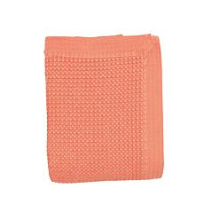 Coral King Vintage Dyed Blanket