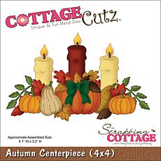 CottageCutz Autumn Centerpiece Die