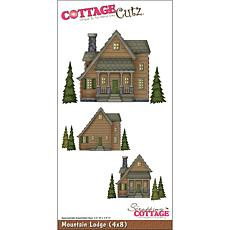 CottageCutz Die 4 x 8 - Mountain Lodge
