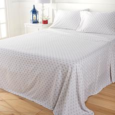 Country Living Home Collection Vintage Washed 4-piece Sheet Set