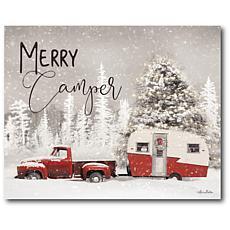 Courtside Market Merry Camper 16x20 Canvas Wall Art