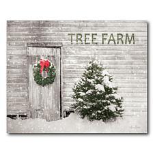 Courtside Market Tree Farm 20x24 Canvas Wall Art