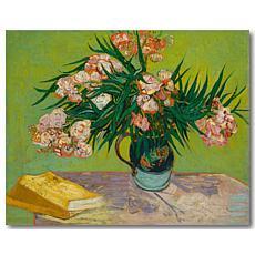 Courtside Market Van Gogh Oleanders 16x20 Canvas Wall Art