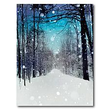 Courtside Market Winter Wonderland 20x24 Canvas Wall Art