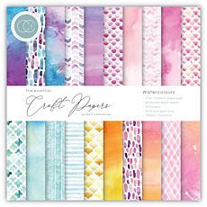 Craft Consortium Watercolours 6x6 Premium Paper Pad