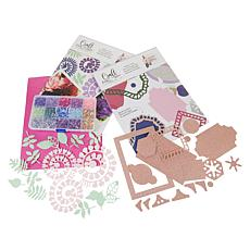Craft Factory Creations Rolled Flower and Nesting Frame Kit