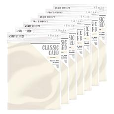 Craft Perfect Classic Card Ivory White 7-Pack