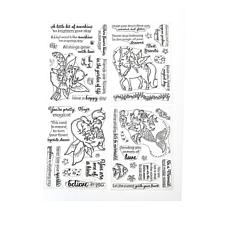 Crafter's Companion 4-pack Whimsical Stamps by Annabel Spenceley