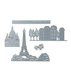 Crafter's Companion 5-piece Parisian Scenic Die Set