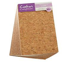 Crafter's Companion Adhesive Sheet 30-pack - Cork