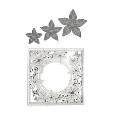 Crafter's Companion Chloe Layered Flower Stamp and Die Set