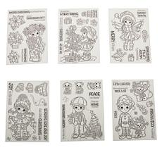 Crafter's Companion Conie Fong Holiday Stamps Set of 6