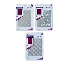 Crafter's Companion Create A Card Patterns 3-piece Die Set