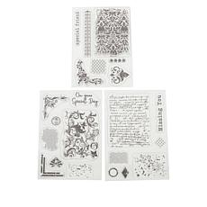 Crafter's Companion Elegant Layering Texture Stamps