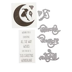 Crafter's Companion Enchanted Christmas Stamps and Dies Set