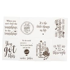 Crafter's Companion Encouragement Quirky Stamps