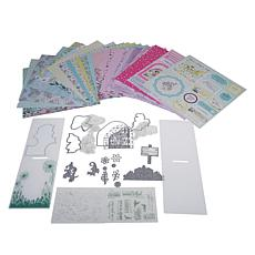 Crafter's Companion Fairy Garden Papercraft Kit