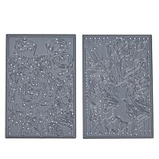 Crafter's Companion Gemini Create-A-Card Layering Panel Dies Rose/Lily
