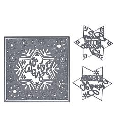 Crafter's Companion Gemini Create-A-Card Snowflake Frame