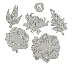 Crafter's Companion Gemini Elements Peony and Cosmos Double-Sided Dies