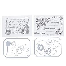 Crafter's Companion Gemini Every Day Photo Frame Stamp & Die Set